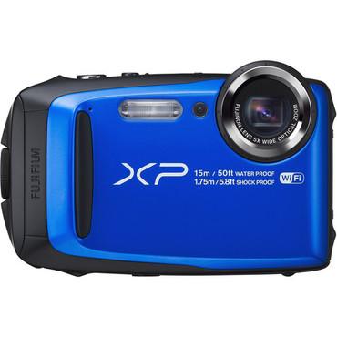 Fujifilm FinePix XP90 Digital Camera (Blue)
