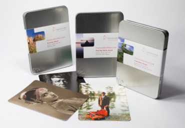 """Hahnemuhle FineArt Pearl, 285gsm, A5 cards, 5.8""""x8.3"""", 30 sheet tin"""