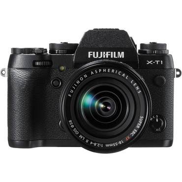 Pre-Owned - Fujifilm X-T1 w/ 18-55mm Lens 16MP (black)