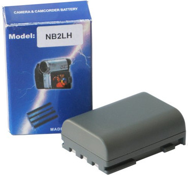 Bower ENB-C2L Energizer Digital Replacement Battery NB-2L for Canon PowerShot G7, G9, S40, S50, S60, S70 and S80 (Black