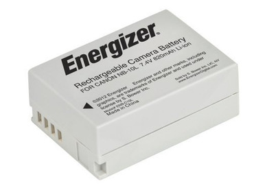 Bower ENB-C10L Energizer Digital Replacement Battery NB-10L for Canon G1X, G15, SX-40 and SX-50