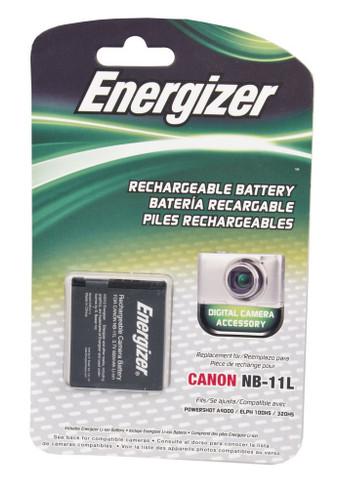 Bower ENB-C11L Energizer Digital Replacement Battery NB-11L for Canon PowerShot A2400, IXUS 240HS and ELPH 320HS (Black)