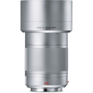 Leica  APO-Macro-Elmarit-TL 60mm f/2.8 ASPH. Lens (Silver)