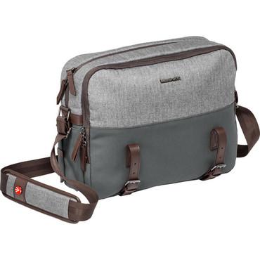 Manfrotto  Windsor Camera Reporter Bag for DSLR (Gray)