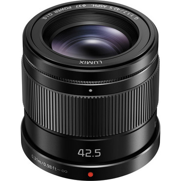 LUMIX G 42.5mm F/1.7 ASPH Black