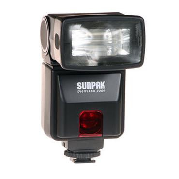 Pre-Owned Sunpak digital 3000  Shoe Mount Flash for CANON