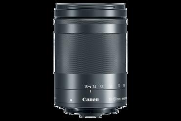 Canon EF-M 18-150mm f/3.5-6.3 IS STM Lens (Graphite)