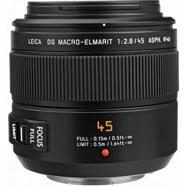 Pre-Owned Panasonic Leica DG Macro-Elmarit 45mm f/2.8 ASPH. MEGA O.I.S. Lens