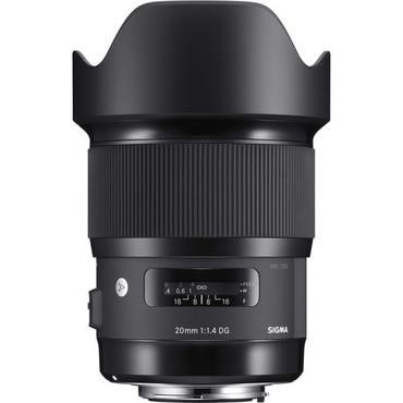 Sigma 20mm f/1.4 DG HSM Art Lens for Sigma SA