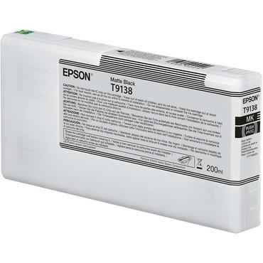 Epson Ultrachrome HD Ink 200ml (Matte Black)