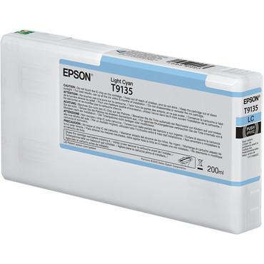 Epson Ultrachrome HD Ink Cartridge 200ml (Light Cyan)