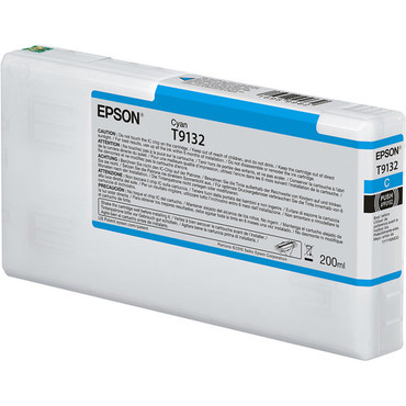 Epson Ultrachrome HD Ink Cart HD 200ml (Cyan)
