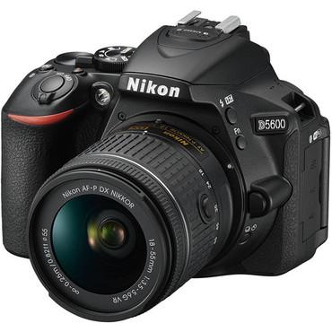 Nikon D5600 DX DSLR Camera with 18-55mm Lens
