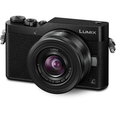 Panasonic Lumix DC-GX850 with 12-32mm Lens (Black)