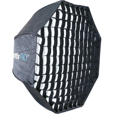 "Phottix Easy Up HD Umbrella Octa Softbox with Grid (32"")"