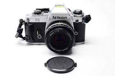 Pre-Owned - Nikon FG Silver Body W/  50Mm F/1.8
