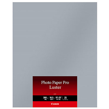 "Canon Photo Paper Pro Luster (17 x 22"", 25 Sheets) LU-101"