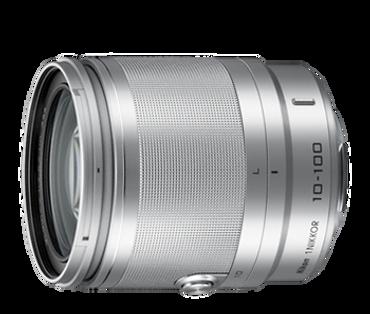 1 NIKKOR 10-100mm F/4.0-5.6 VR Lens (Silver)