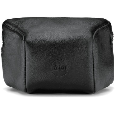 Leica  Leather Pouch (Short, Black)