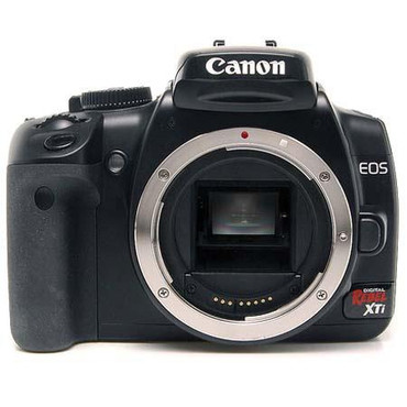 Pre-Owned - Canon Rebel Xti Black Body Only