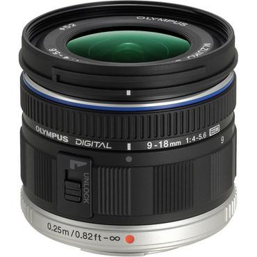 Olympus 9-18mm f/4.0-5.6 M. Zuiko ED Lens