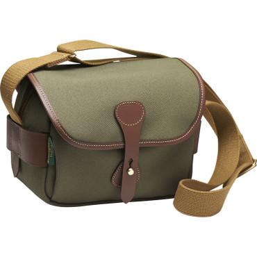 Billingham  S2 Shoulder Bag (Sage FibreNyte/Chocolate Leather)