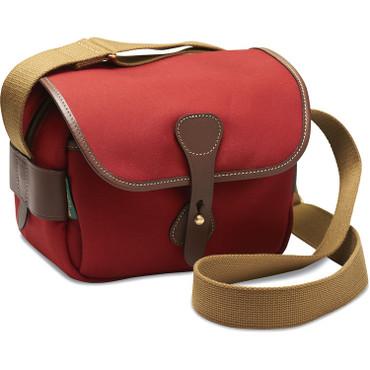 Billingham  S2 Shoulder Bag (Burgundy Canvas/Chocolate Leather)