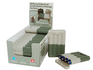 Military/Industrial grade battery storage systems
