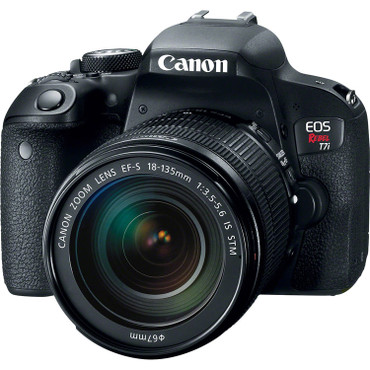 Canon EOS T7i DSLR Camera with 18-135mm Lens