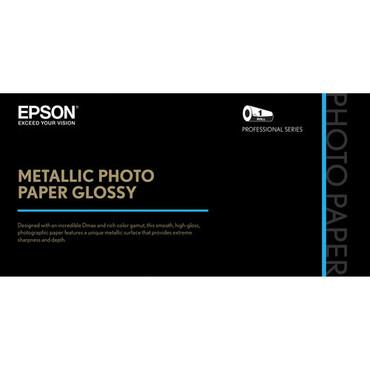 "Epson Metallic Photo Paper Glossy (36"" x 100', 1 Roll)"