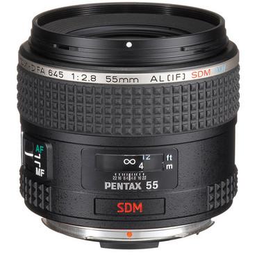 Pre-Owned - Pentax D FA 645 55Mm F2.8 AL[IF] SDM AW Lens