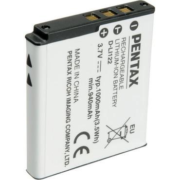Pentax  D-LI122 Rechargeable Li-Ion Battery For Optio VS20 (3.7V, 1000mAh)
