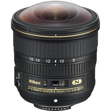 Nikon AF-S FX 8-15MM  Fisheye NIKKOR  f/3.5-4.5E ED