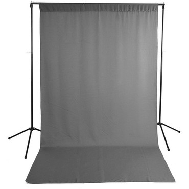 Savage Economy Background Support Stand with Gray Backdrop