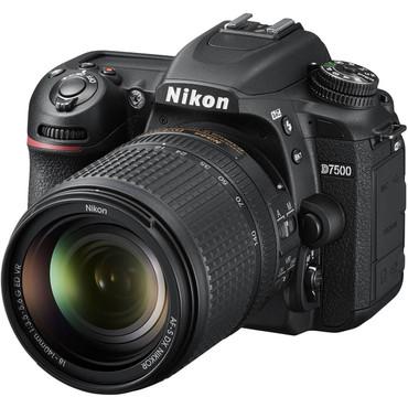 Nikon D7500 DX DSLR w/ 18-140mm VR Lens