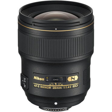Nikon AF-S FX 28mm f/1.4E ED Nano