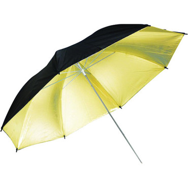 "Savage Black/Gold Umbrella (43"")"
