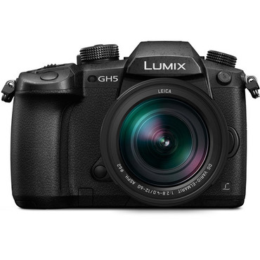 Panasonic Lumix DC-GH5 Mirrorless Camera with 12-60mm Lens (ACE55213)