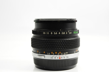 Pre-Owned - Olympus 50mm F/1.4 G.Zuiko Manual Focus OM Lens