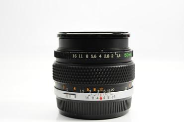 Pre-Owned - Olympus 50mm F/1.4 G.Zuiko Manual Focus OM Lens