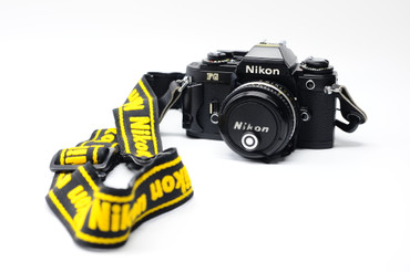 Pre-Owned - Nikon FG Black Body W/  50Mm F/1.8