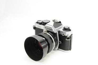 Pre-Owned - Nikon FM2 Body w/50mm 1.4 AI  lens. Film Camera