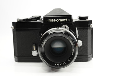 Pre-Owned - Black Nikkormat FTN w/ 50mm f/2