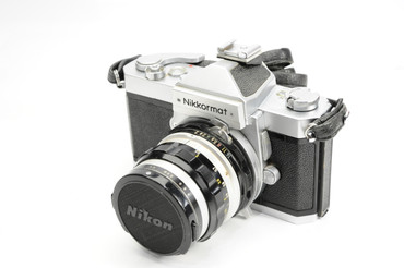 Pre-Owned - Nikkormat FTN silver W/ 50Mm f 1.4
