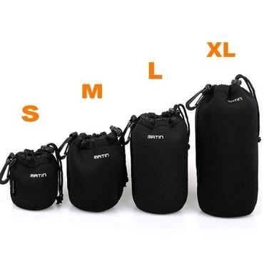 Neoprene Soft Waterproof Camera Lens Pouch bag Case Large L (95mm x 170mm)