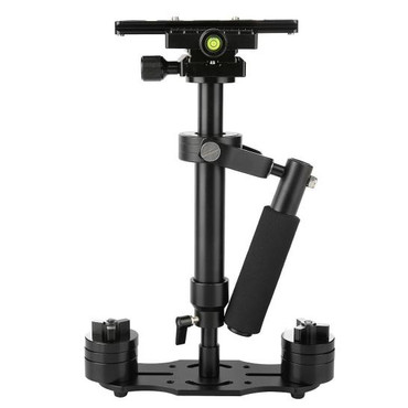 Handheld Stabilizer Pro Version for Camera Video DV DSLR Nikon Canon, Sony, Panasonic (Black)