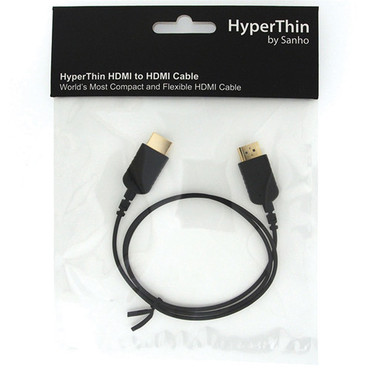 HyperThin HDMI Cable .8M-BLACK
