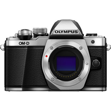 Olympus OM-D E-M10 Mark III (Body Only, Silver)