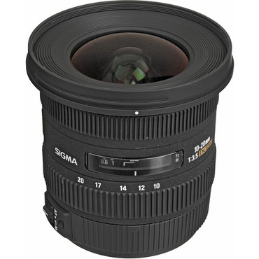 Pre-Owned - Sigma 10-20mm f/3.5 EX DC HSM For Nikon