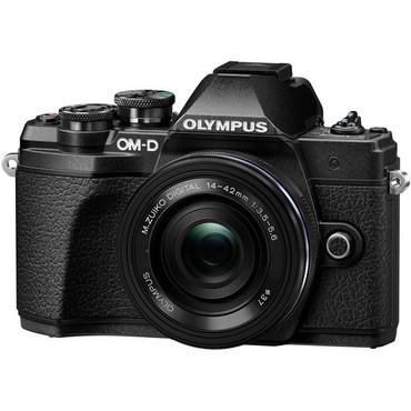 Olympus OM-D E-M10 Mark III w/ 14-42mm EZ Lens (Black)